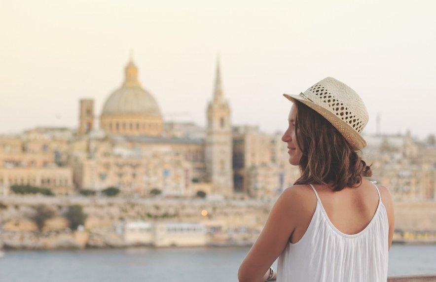 Turistka na Malti