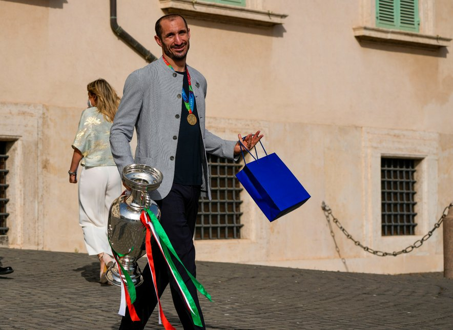 Giorgio Chiellini je na EP dokazal, da je pri 36 letih še vedno med najboljšimi branilci na svetu.