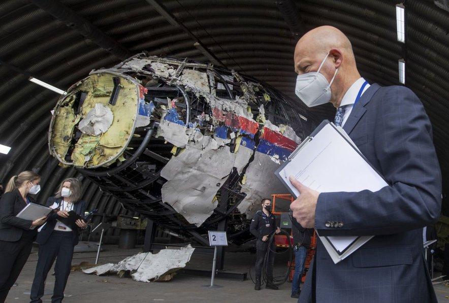 Letalo je strmoglavilo na območju Donetska, na teritoriju, ki so ga nadzorovali ruski separatisti. Oktobra 2015 so nizozemski preiskovalci sklenili, da je letalo sestrelila raketa zemlja-zrak. Ruske oblasti so zanikale, da so protiletalsko raketo prepeljali v Ukrajino, preiskovalce pa obtožile, da so politično motivirani in pristranski.