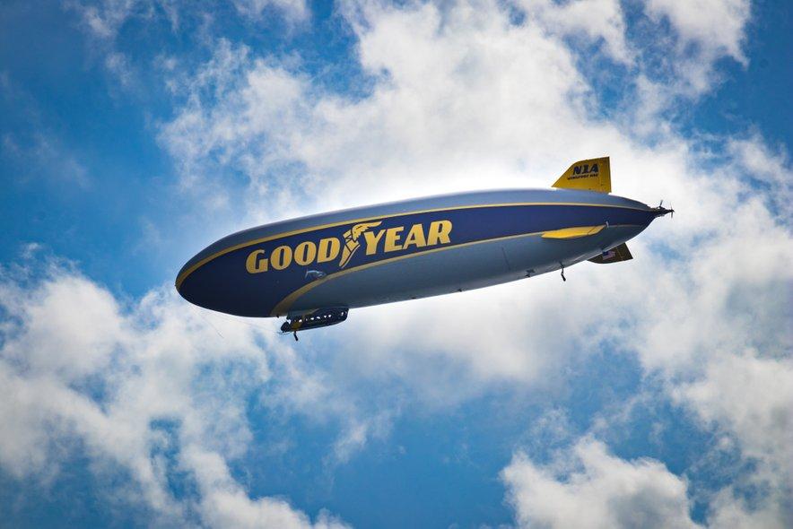 Cepelin je sicer edino poltogo zračno plovilo na svetu, ki se lahko zavrti okoli svoje osi.