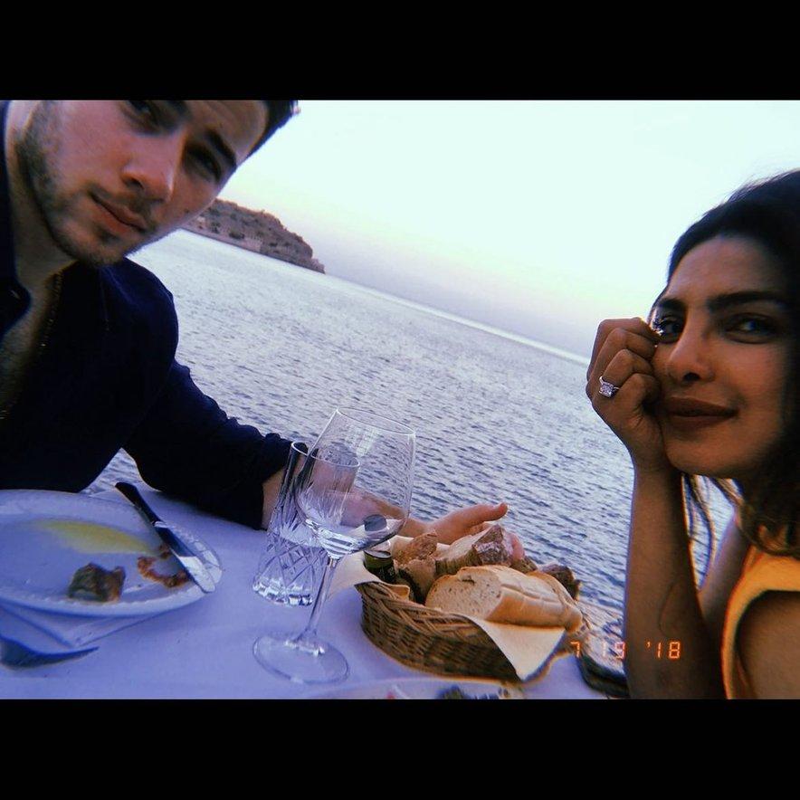 Priyanka Chopra in Nick Jonas