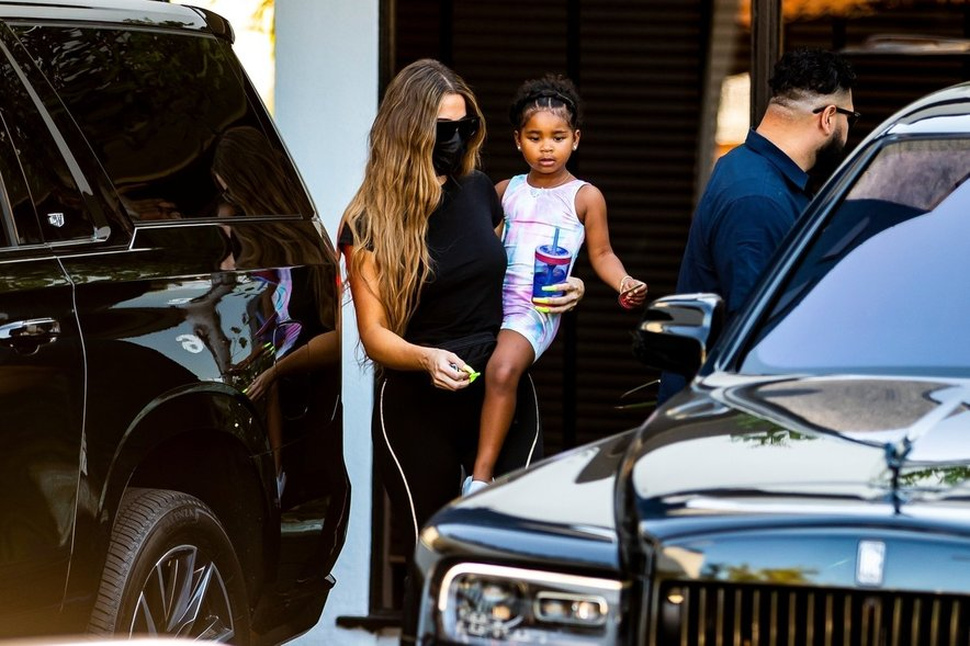 Khloe Kardashian s hčerko True.