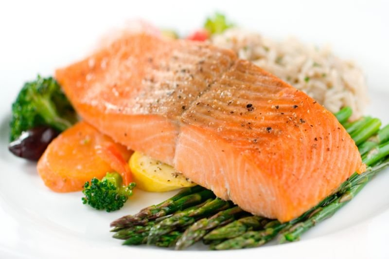 Losos vsebuje veliko zdravih maščob.