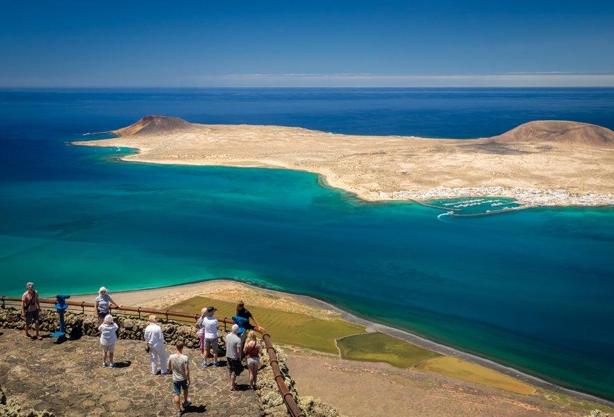 Otok Lanzarote in razgled na Islo Gracioso