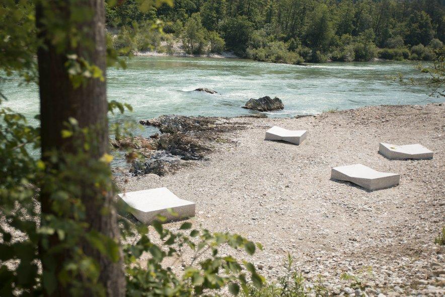 Nova plaža na Savi je namenjena sončanju in ne kopanju v reki.