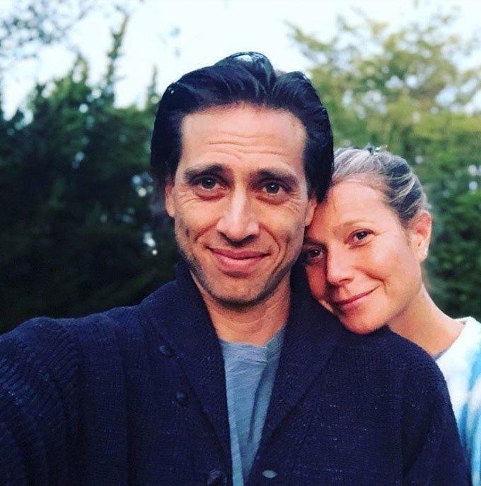 Brad Falchuk in Gwyneth Paltrow
