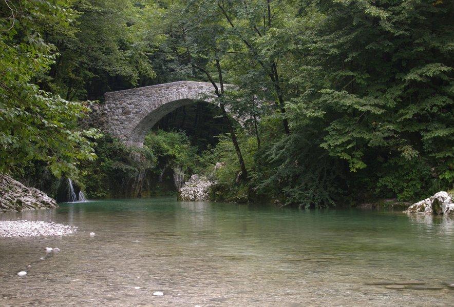 Reka Nadiža in Napoleonov most