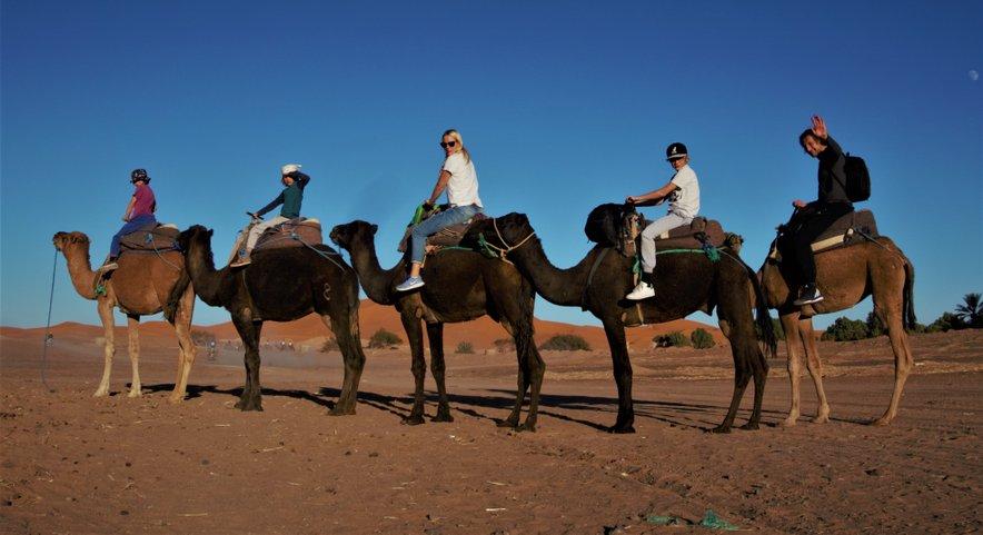 Lani so bili v Maroku, leto prej na Siciliji.