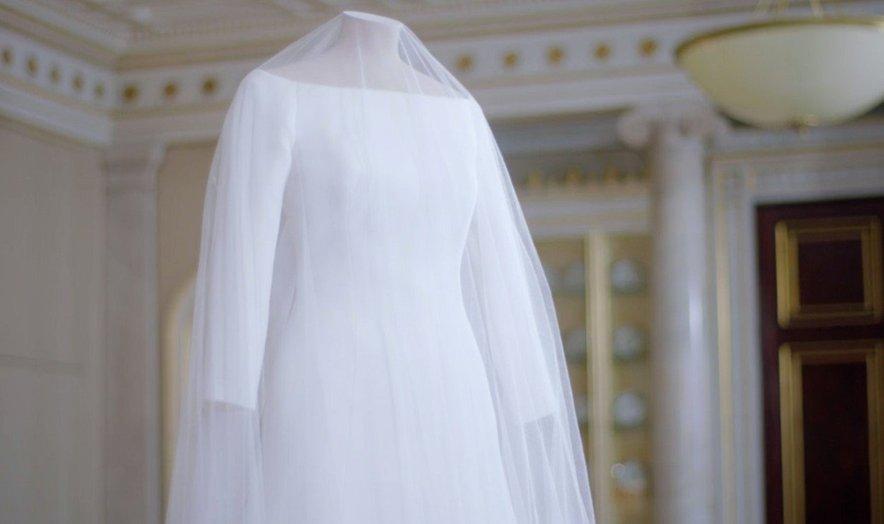 Poročna obleka Meghan Markle