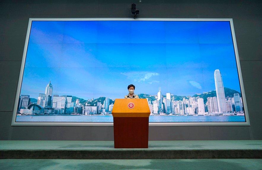 Voditeljica Hongkonga Carrie Lam