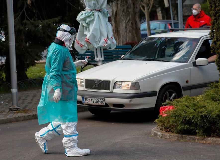 Hrvaška je novi koronavirus do zdaj potrdila pri 2624 osebah.