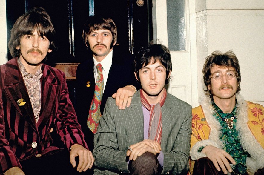 Legendarna zasedba The Beatles leta 1967