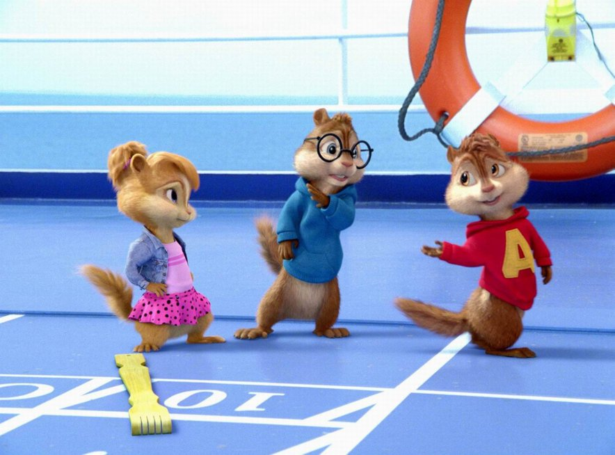 Z Alvinom in veverički se boste lahko družili ta vikend.