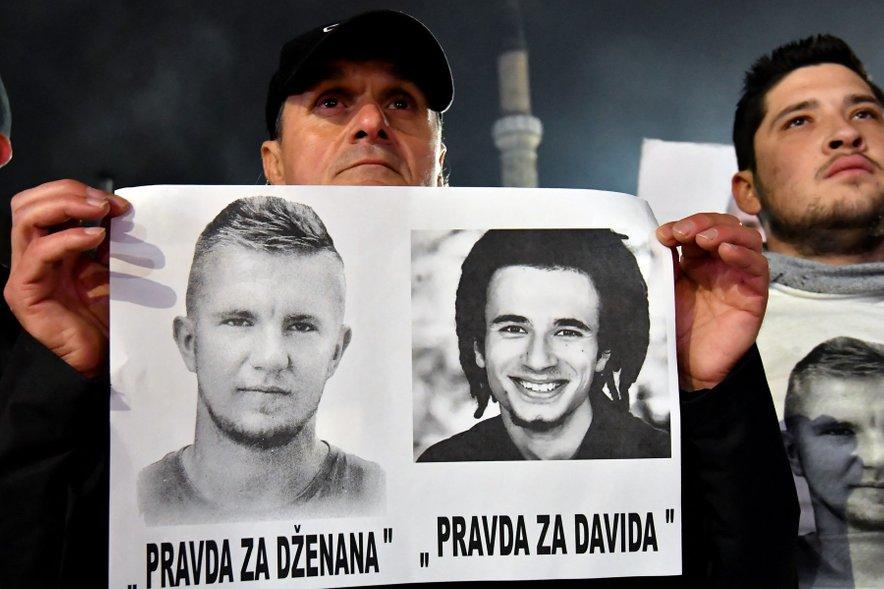 Umorjena Dženan Memić in David Dragičević.