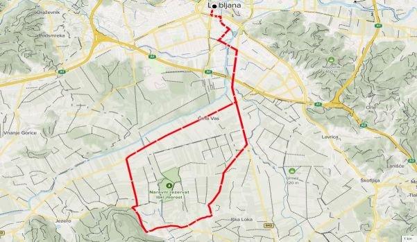 Trasa družinskega maratona, 12. 6. 2021