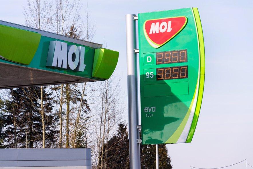 Madžarski Mol ima trenutno v Sloveniji 53 bencinskih servisov (slika je simbolična).