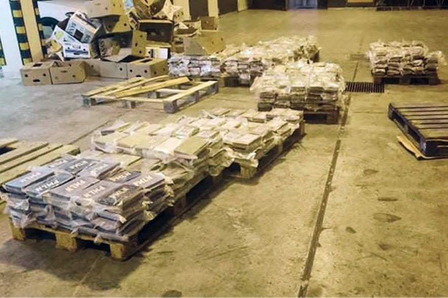 Na Malti zasegli 740 kilogramov kokaina.