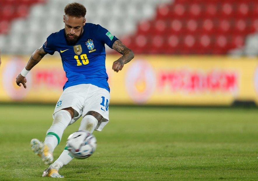 Zvezdnik PSG-ja bo z Brazilijo poskušal Copo Americo osvojiti na domačih tleh.