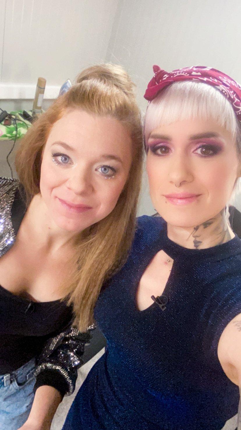 Natalija in Kimi Zupančič, ki ostaja v tekmovanju.