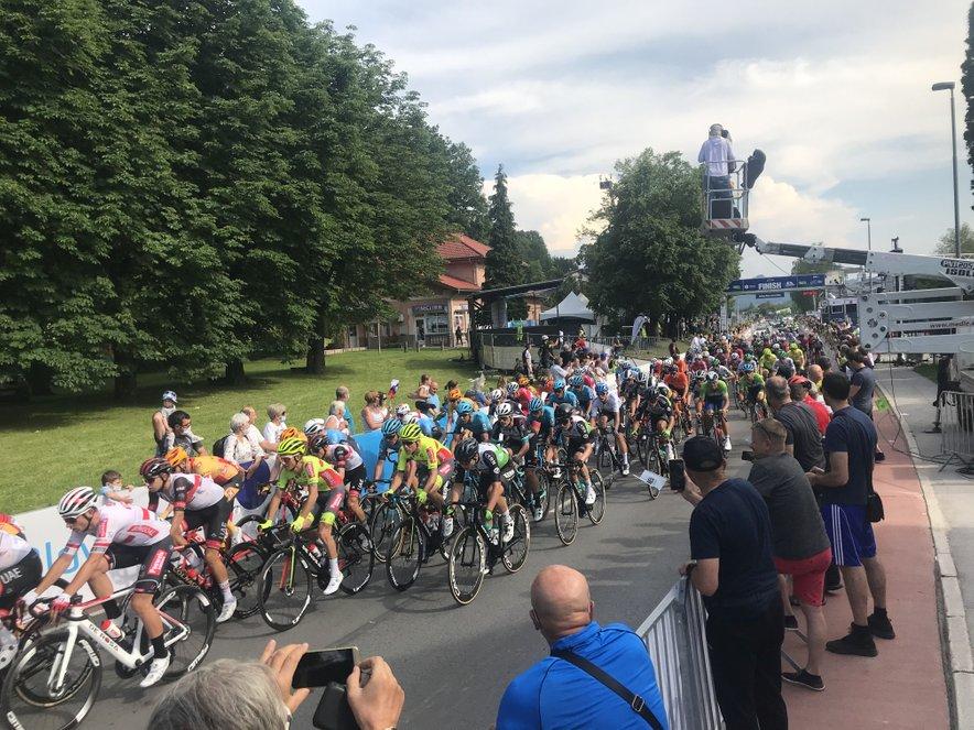 Prva etapa Dirke po Sloveniji je potekala od Ptuja do Rogaške Slatine.