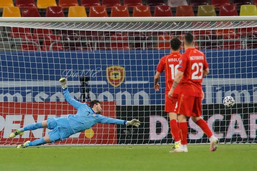 Makedonci imajo v Stoletu Dimitrievskem zanesljivega vratarja, za katerim je odlična sezona pri španskem drugoligašu Rayu Vallecanu.