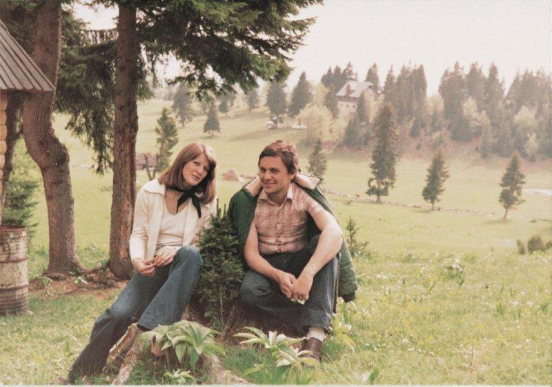 Zoran in njegova žena Mija