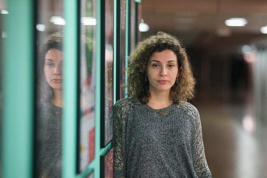 Mila Turajlić pred projekcijo filma v Cankarjevem domu