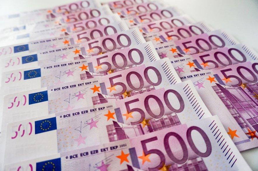 Ponarejeni bankovci so po besedah policije zelo kakovostne izdelave (slika je simbolična).