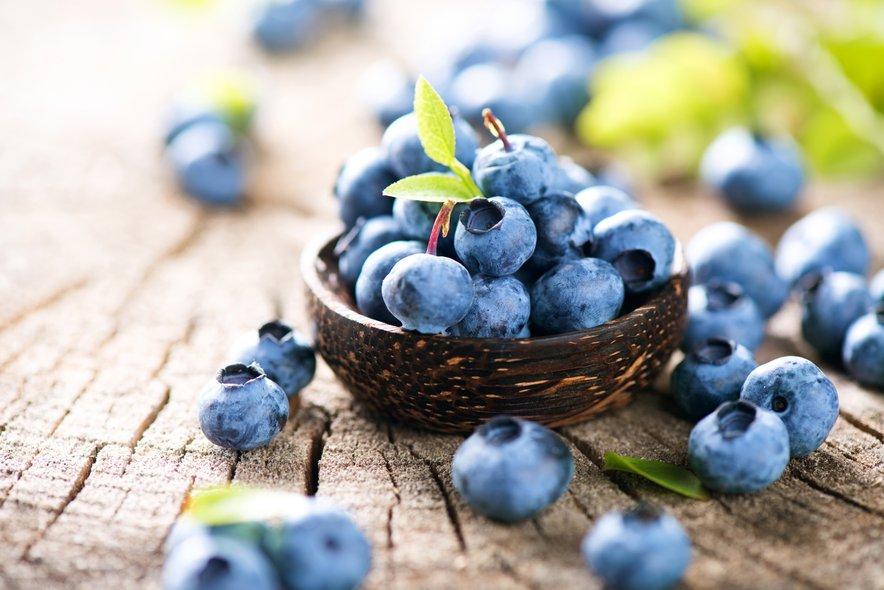 Večkrat si privoščite sadje, kot so borovnice.