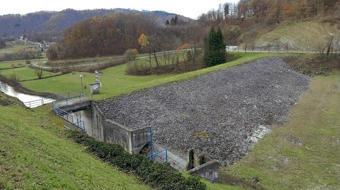 Dela na pregradi Vonarje so stekla v februarju.