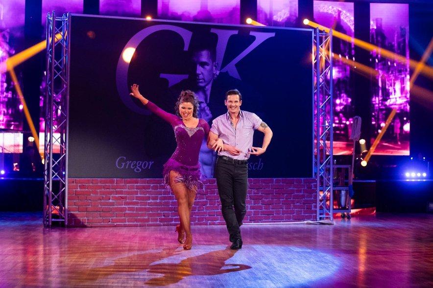 Gregor Poljanec Kirsch je v šovu pokazal argentinsko tango in cha-cha-cha.