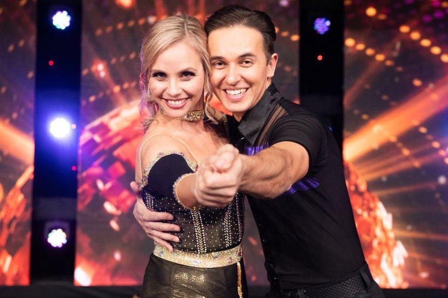 Tinkara Fortuna se je poslovila iz šova Zvezde plešejo.