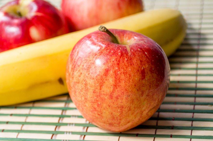 Nadiža prisega na jabolka in banane, ki lahko v nekaterih sladicah nadomestijo sladkor.