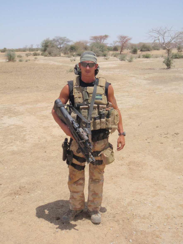 Gregor Kirsch je v preteklosti na lastni koži izkusil tudi vojno v Afganistanu.