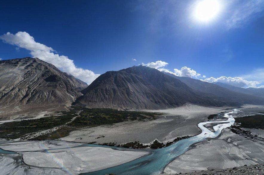 Indijski del himalajskih gora.