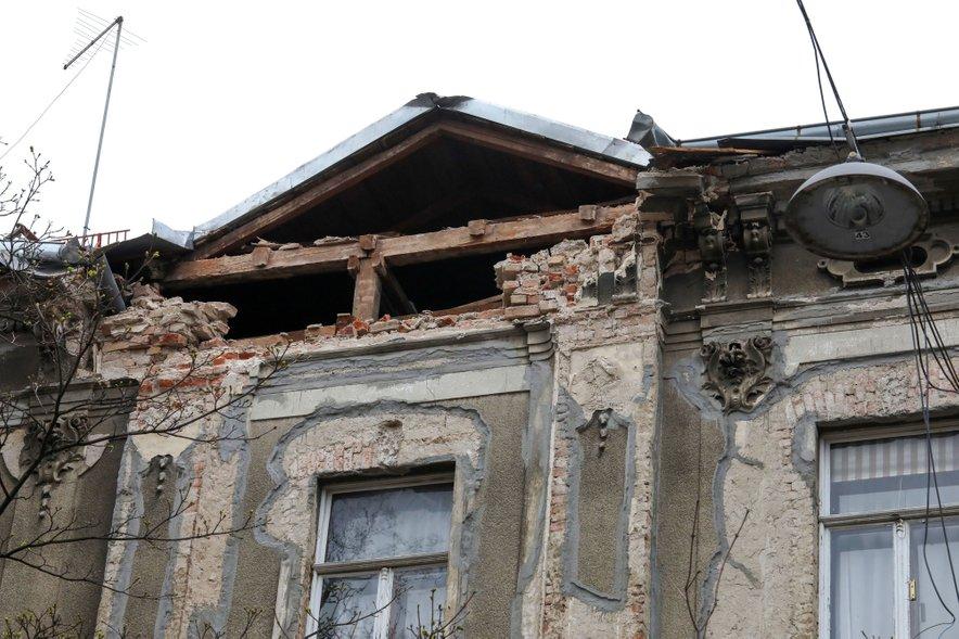 Potres, ki je prizadel Hrvaško, je za seboj pustil veliko razdejanje.