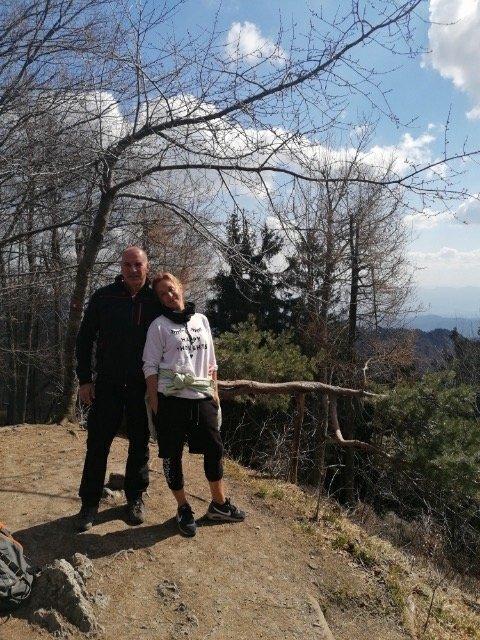 Nina in njen mož Matjaž sta praznovala 20. obletnico poroke.