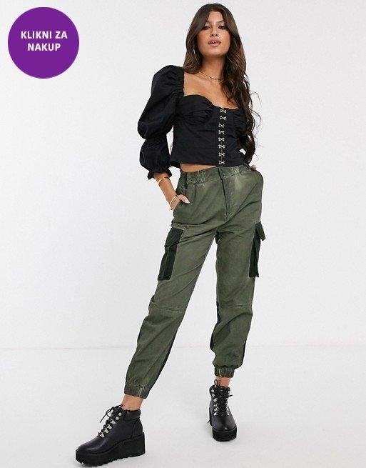 'Combat' hlače so trend pomladi
