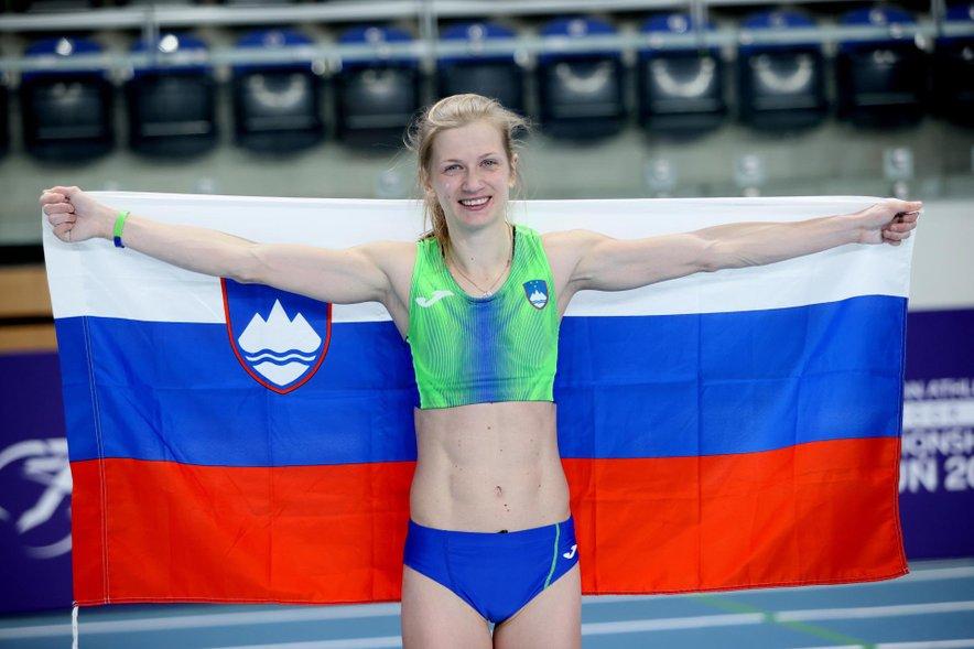 Tina Šutej je po osvojeni srebrni medalji na evropskem dvoranskem prvenstvu v atletiki med kandidatkami za medalje na olimpijadi v Tokiu.