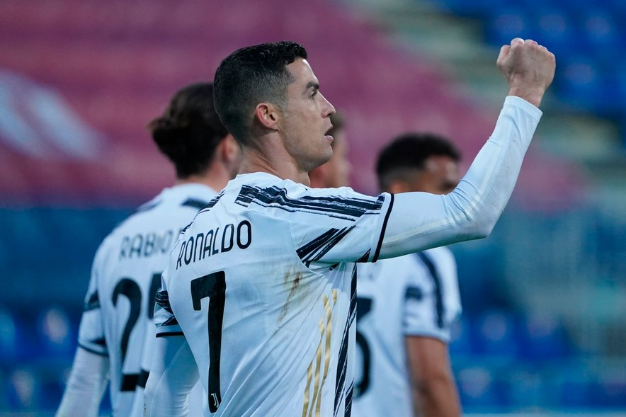 Cristiano Ronaldo je zablestel s hat-trickom.