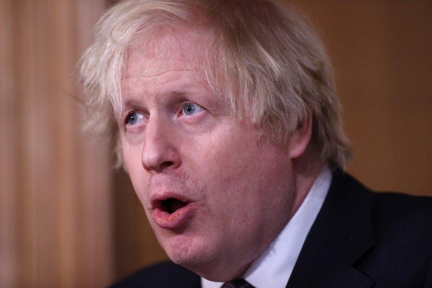 Boris Johnson izjav Harryja in Meghan ne želi komentirati.