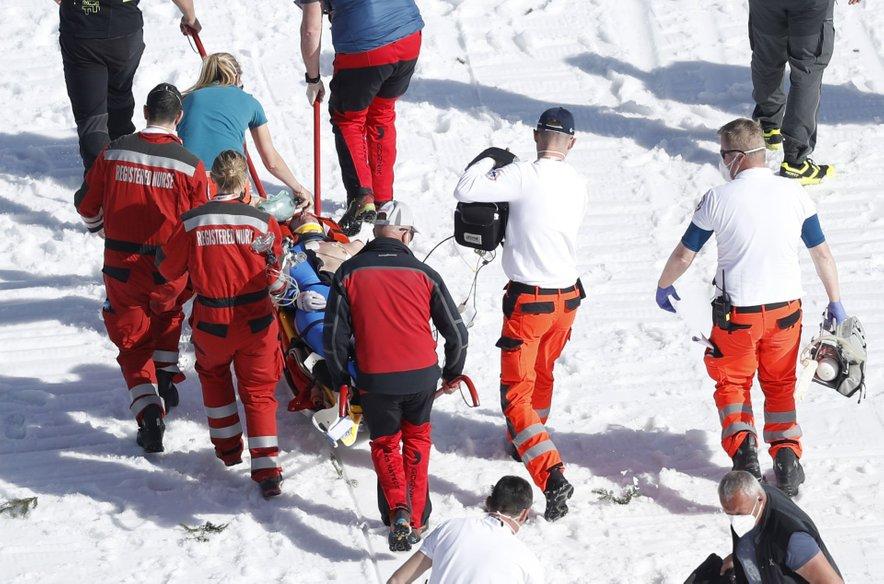Poškodba Daniela Andreja Tandeja