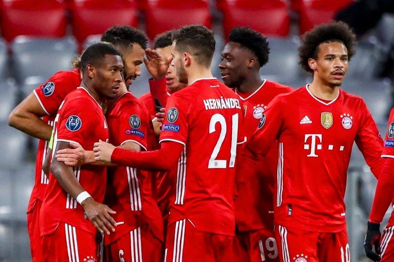 Nogometaši münchenskega Bayerna so v obeh obračunih osmine finala elitne Lige prvakov brez težav opravili z rimskim Lazijem in se uvrstili med osem najboljših moštev na stari celini.