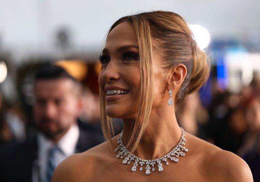 Jennifer Lopez je med snemanjem bivala v luksuzni vili.