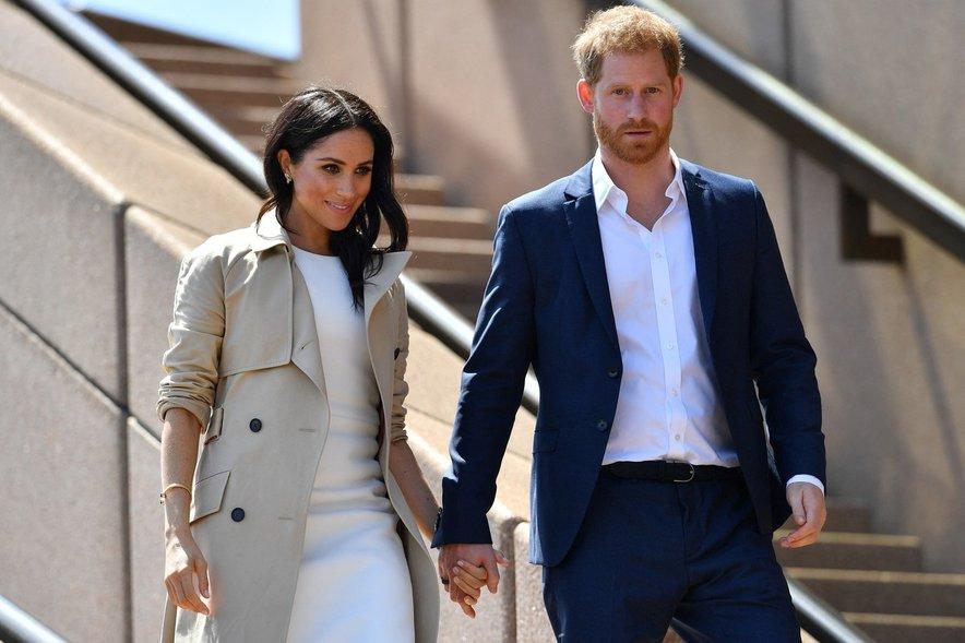 Meghan Markle in princ Harry