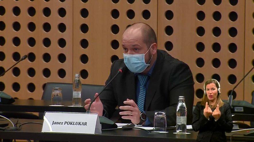 Minister Janez Poklukar