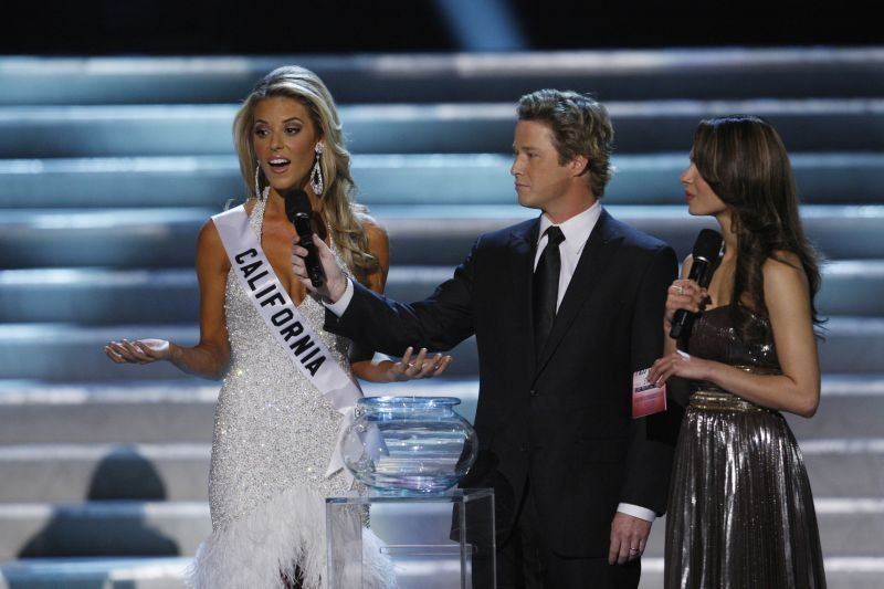 Miss california against gay marriage