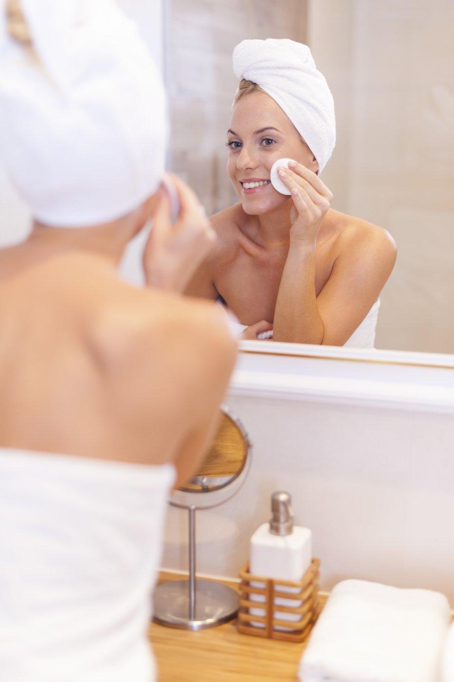Čiščenje kože na obrazu - 2
