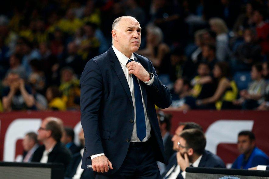 Trener Reala Pablo Laso (na fotografiji) je z varovanci ostal korak od nove uvrstitve na zaključni turnir.