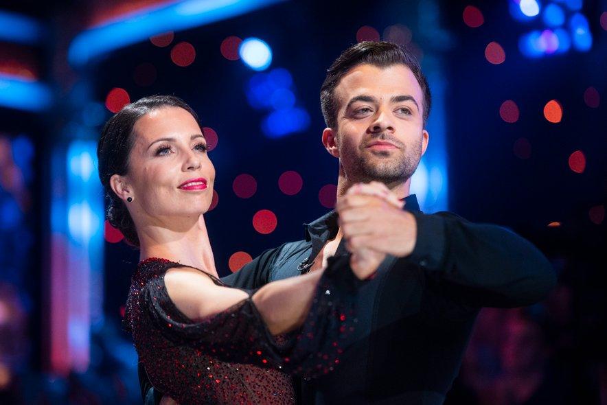 Maja Geršak in Gašper Rifelj bosta postala starša.